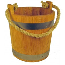 Oak Water Bucket