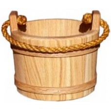 Small Oak Bucket