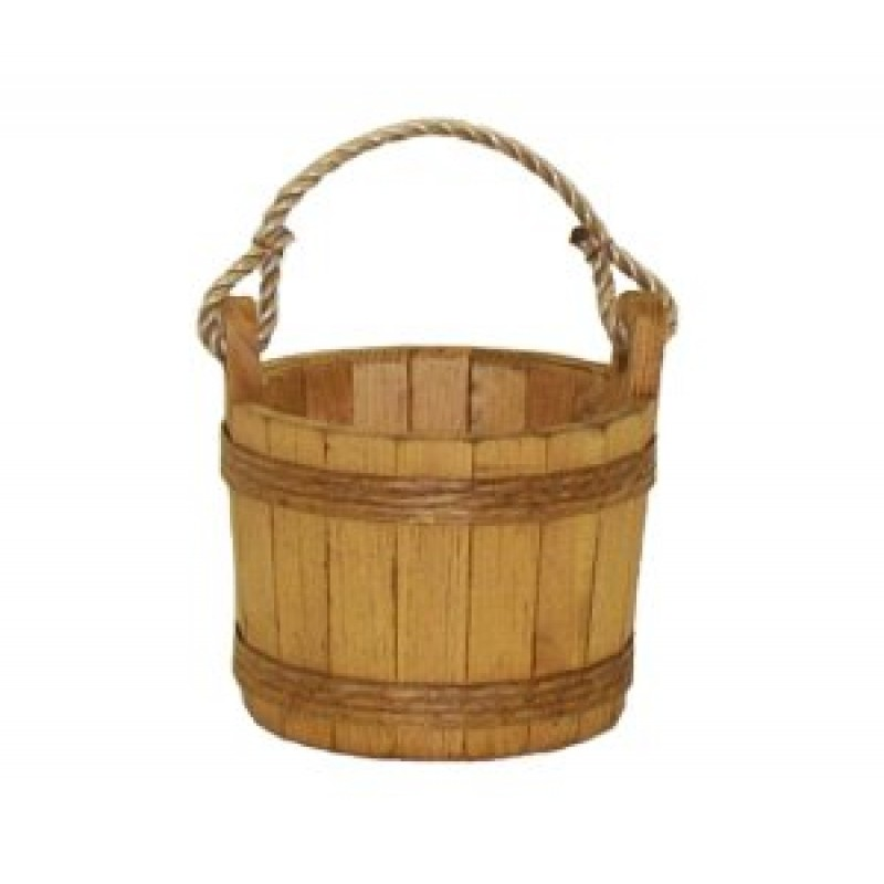 Small stained pine bucket for Small pail buckets