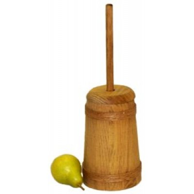 Small Stained Butter Churn