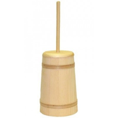 Medium Unstained Butter Churn