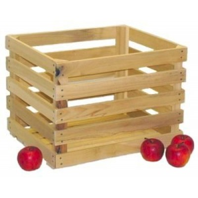 Unstained Apple Crates