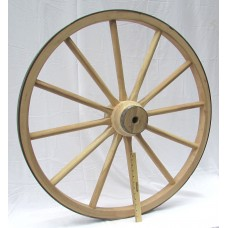 Heavy Wood Hub Wheel - 36""