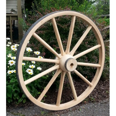 Heavy Wood Hub Wheels
